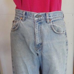 Vintage Calvin Klein Button  Front Jeans -USA